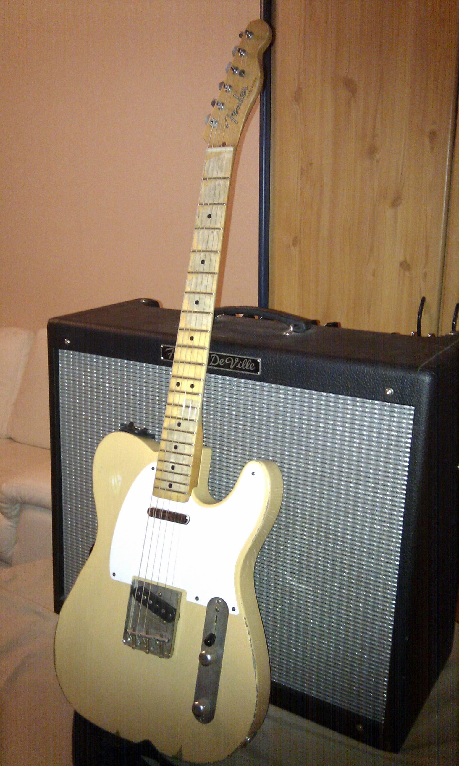 Ampli et guitare